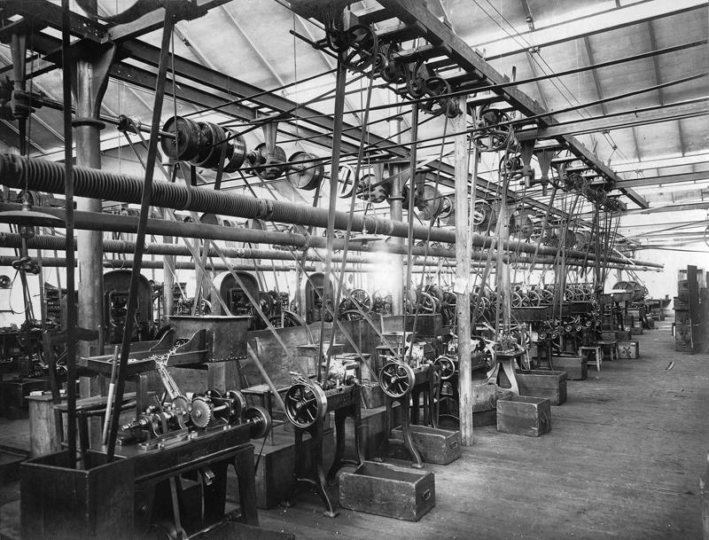Fiocchi ammunition manufacturing facility in the early 1900's.