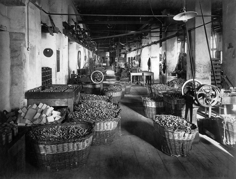 Fiocchi Manufacturing Facility in Lecco, Italy