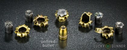 Remington 9mm jhp golden saber rounds fired