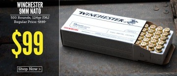 Image of Winchester 9mm Luger Rounds In Stock at Lucky Gunner