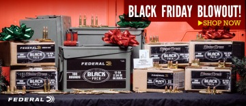 photo of federal and blazer black friday ammo lucky gunner