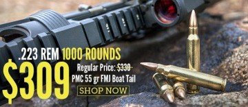 Bulk 223 PMC Ammo For Sale at Lucky Gunner with Fast Shipping