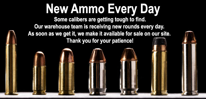 ammo for sale at lucky gunner