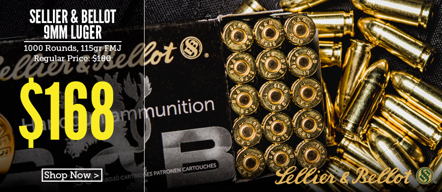 photo of sellier & bellot best 9mm ammo