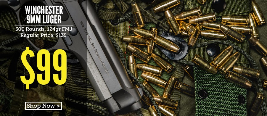 Winchester Winclean Bullets 124 gr 500 rounds