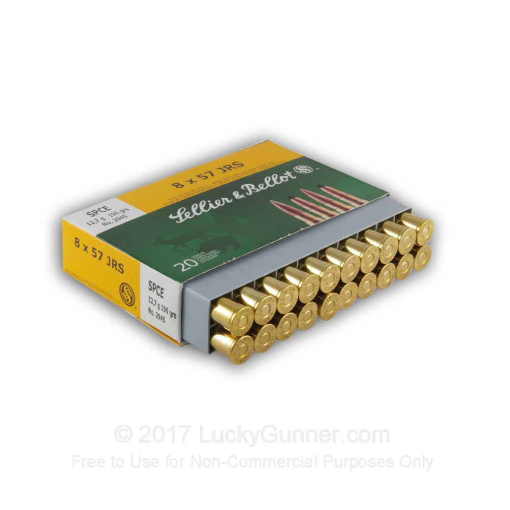 8x57mm jrs ammo for sale 196 gr spce ammunition in stock by