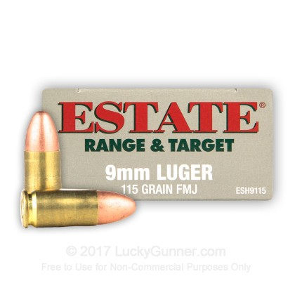 Image 1 of Estate Cartridge 9mm Luger (9x19) Ammo