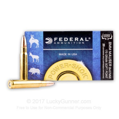 Image 2 of Federal 8mm Mauser Ammo