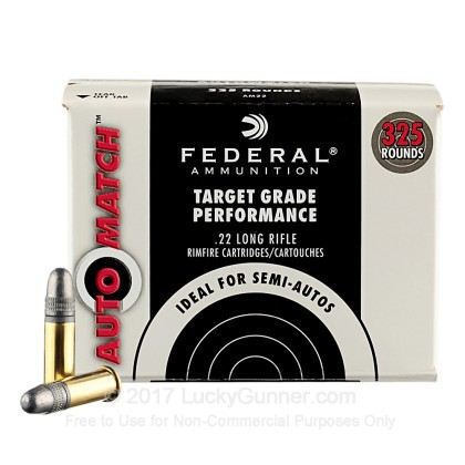 Image 1 of Federal .22 Long Rifle (LR) Ammo