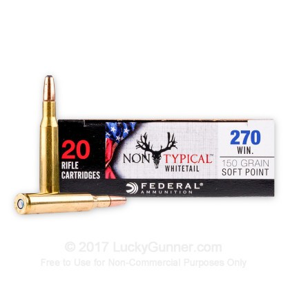 Image 1 of Federal .270 Winchester Ammo