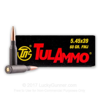 Image 1 of Tula Cartridge Works 5.45x39 Russian Ammo
