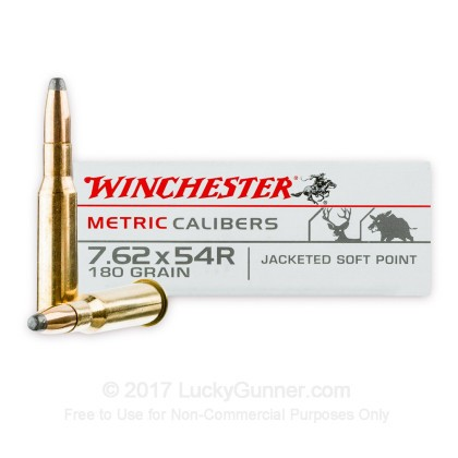 Image 2 of Winchester 7.62x54r Ammo