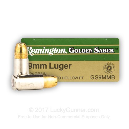 Image 1 of Remington 9mm Luger (9x19) Ammo