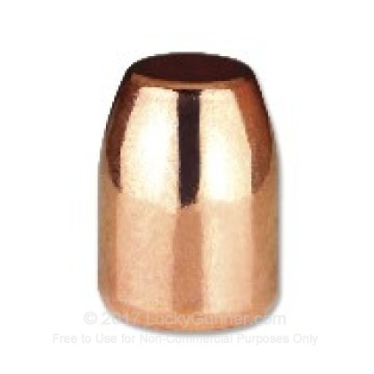 Large image of Cheap 40 Caliber 180gr RSDS Plated Bullets from Berry's Bullets For Sale at Lucky Gunner