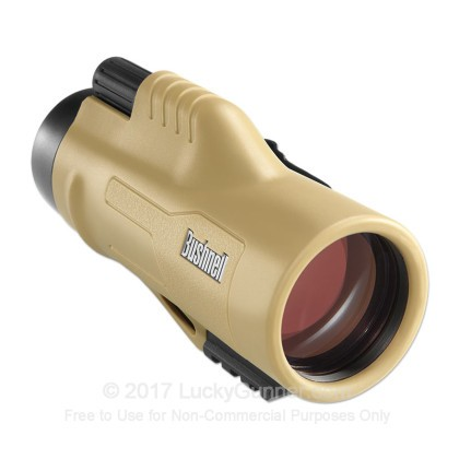 Large image of Bushnell Legend Ultra HD Tactical Monocular for Sale - 10x - 42mm - Mil-Hash Reticle - 191144 - Sand - In Stock - Luckygunner.com
