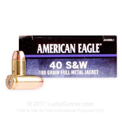 Image 1 of Federal .40 S&W (Smith & Wesson) Ammo
