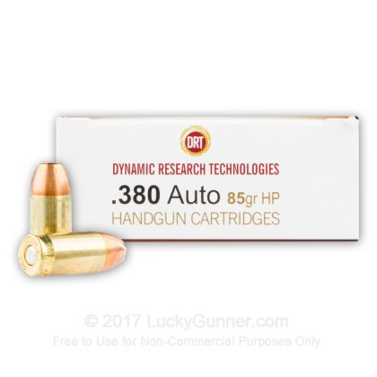 Image 1 of Dynamic Research Technologies .380 Auto (ACP) Ammo