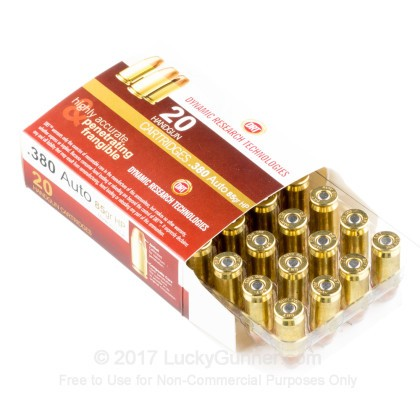 Image 3 of Dynamic Research Technologies .380 Auto (ACP) Ammo