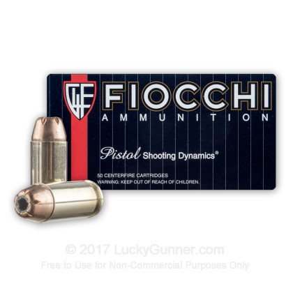 Image 2 of Fiocchi .40 S&W (Smith & Wesson) Ammo