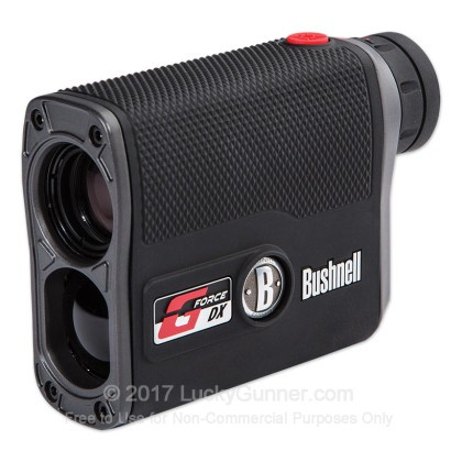 Large image of Bushnell G-Force DX Rangefinder - 5-1300 Yards - Rifle & Bow Modes - 202460 - Black - In Stock - Luckygunner.com