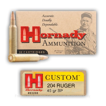 Image 4 of Hornady .204 Ruger Ammo