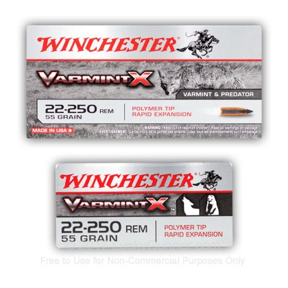 Image 10 of Winchester .22-250 Remington Ammo