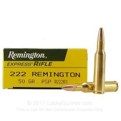 Image 1 of Remington .222 Remington Ammo