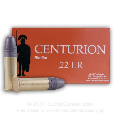 Image 3 of Centurion .22 Long Rifle (LR) Ammo
