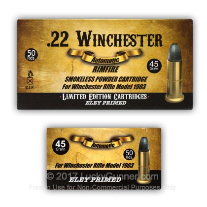 Image 4 of Aguila .22 Winchester Automatic Ammo