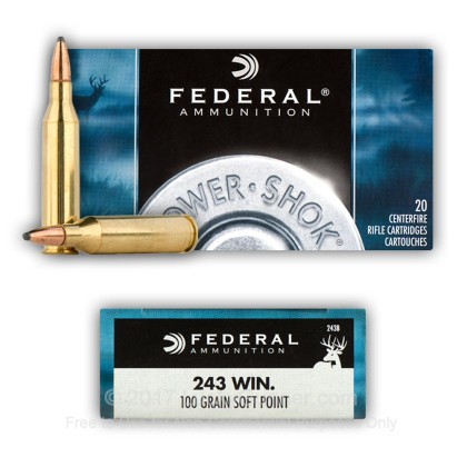 Image 8 of Federal .243 Winchester Ammo