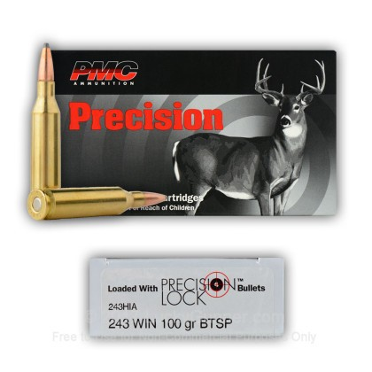 Image 3 of PMC .243 Winchester Ammo