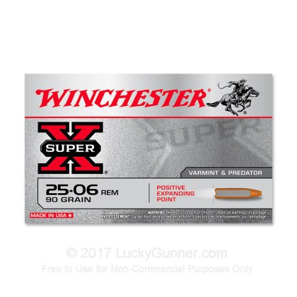 Image 1 of Winchester .25-06 Ammo
