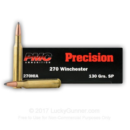Image 1 of PMC .270 Winchester Ammo