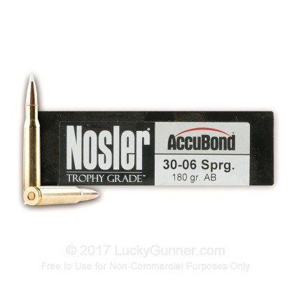 Image 1 of Nosler Ammunition .30-06 Ammo