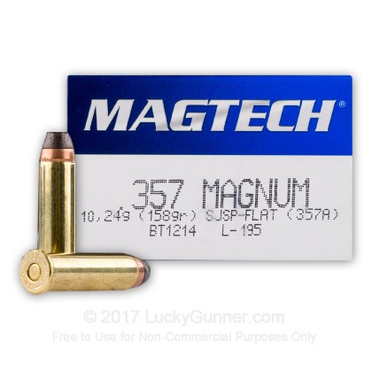 Image 1 of Magtech .357 Magnum Ammo