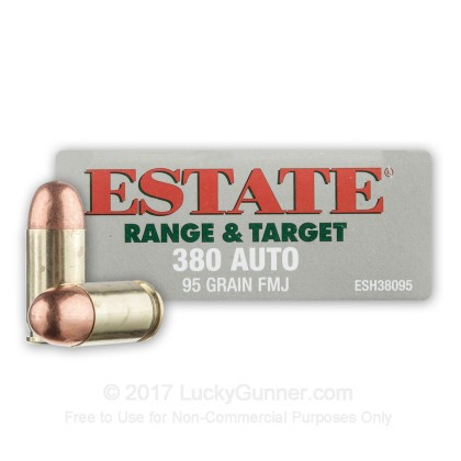 Image 1 of Estate Cartridge .380 Auto (ACP) Ammo