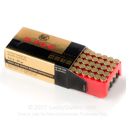 Image 3 of RWS .22 Long Rifle (LR) Ammo