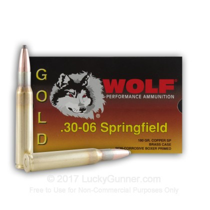 Image 1 of Wolf .30-06 Ammo