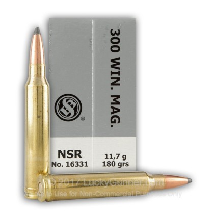 Image 5 of Sellier & Bellot .300 Winchester Magnum Ammo