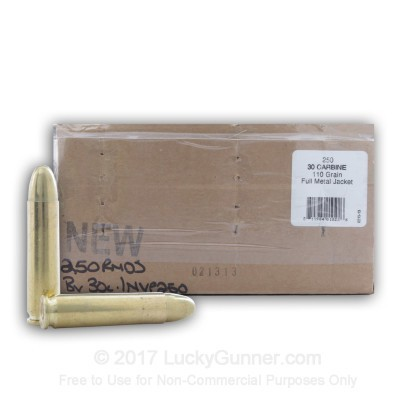 Image 1 of BVAC 30 Carbine Ammo