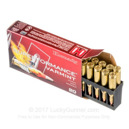Image 3 of Hornady .222 Remington Ammo
