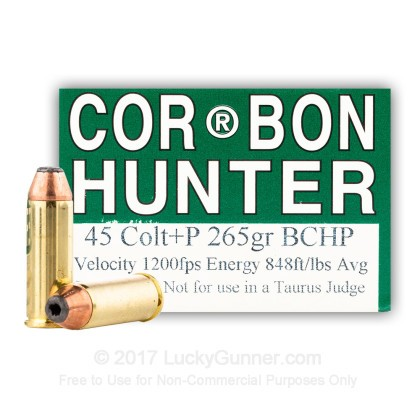 Image 1 of Corbon .45 Long Colt Ammo