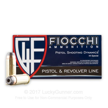Image 2 of Fiocchi .44 Special Ammo