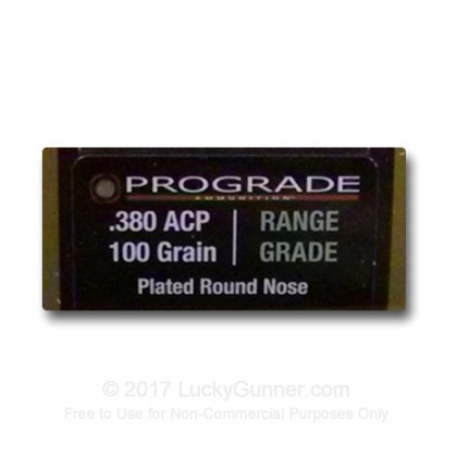 Image 2 of ProGrade Ammunition .380 Auto (ACP) Ammo