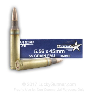 Image 1 of Independence 5.56x45mm Ammo
