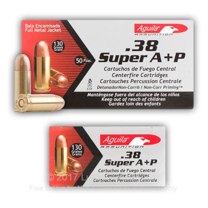 Image 7 of Aguila .38 Super Ammo