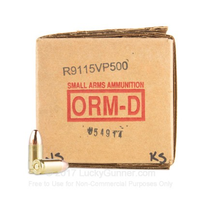 Image 2 of American Quality Ammunition 9mm Luger (9x19) Ammo
