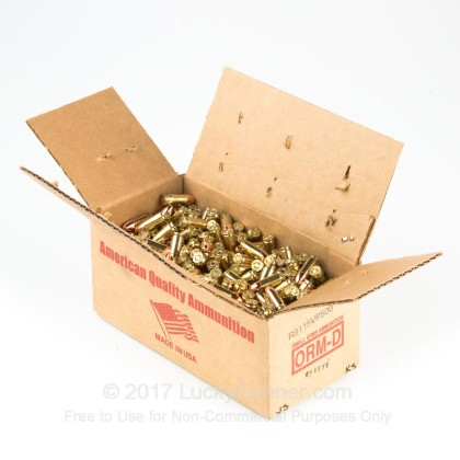 Image 3 of American Quality Ammunition 9mm Luger (9x19) Ammo