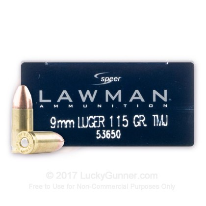 Image 1 of Speer 9mm Luger (9x19) Ammo