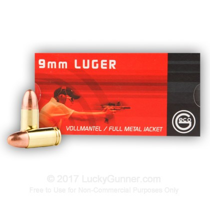 Image 2 of GECO 9mm Luger (9x19) Ammo